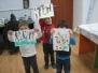 Clubul de Arta - pictura cu paiul - martie 2013