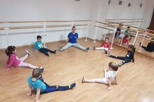 Dans aerobic pentru copii de 4-6 ani