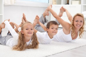 mom-kids-doing-morning-yoga-horiz